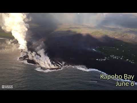 October 2018 review of the Lower East Rift zone (Kīlauea) eruption on the Big Island, Hawaii.