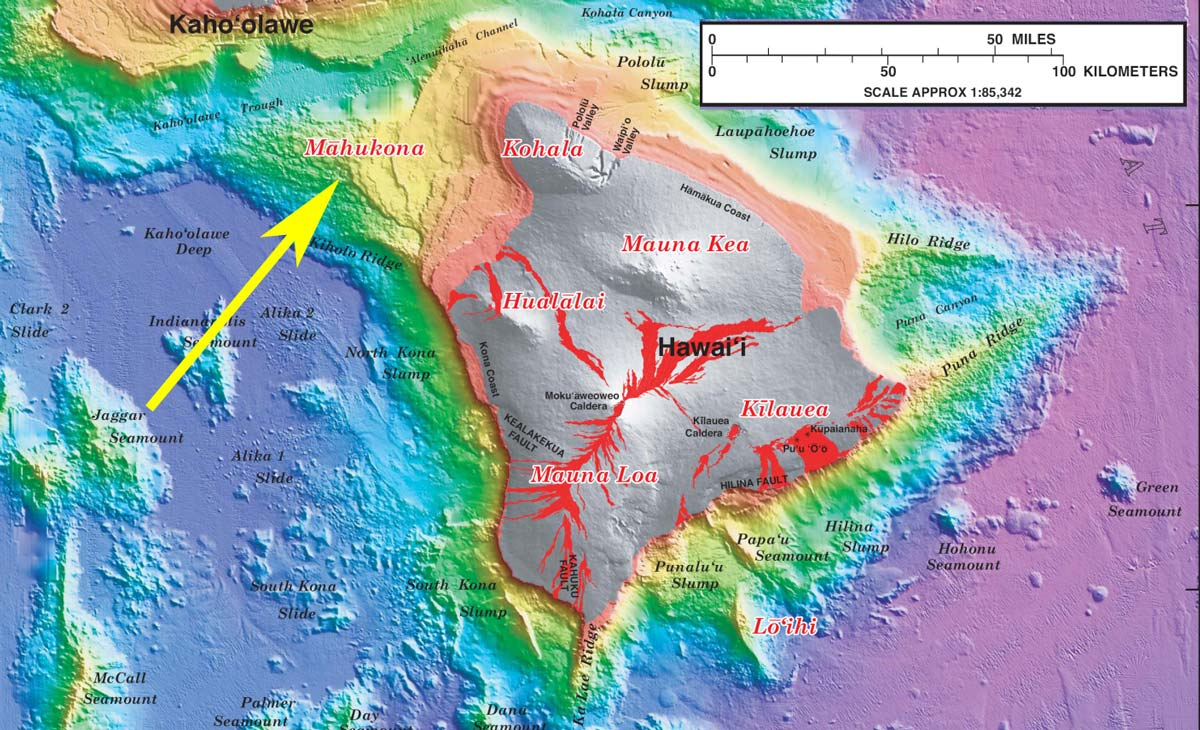 The Volcanic History of the Big Island of Hawaii