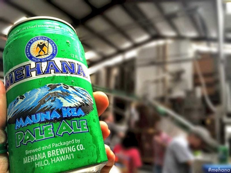 Can of Mehana beer
