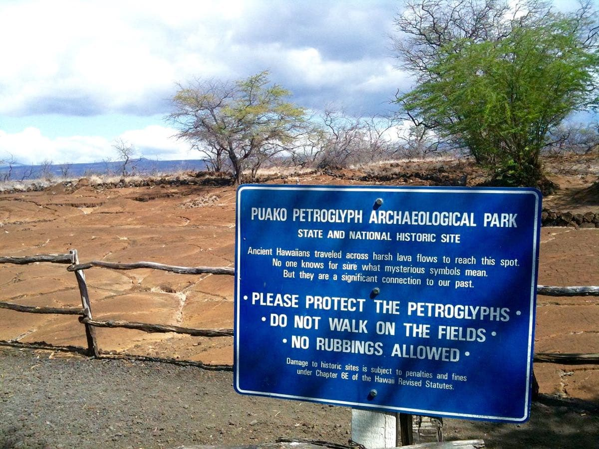 Puakō Petroglyph field