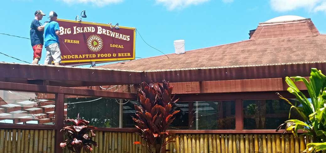 Big Island Brewhaus in Kamuela/Waimea