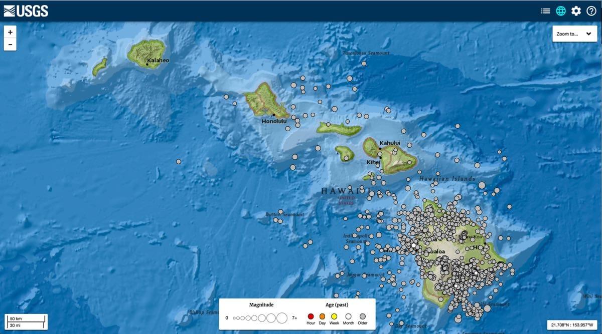 Hawaii, the Earthquake State?