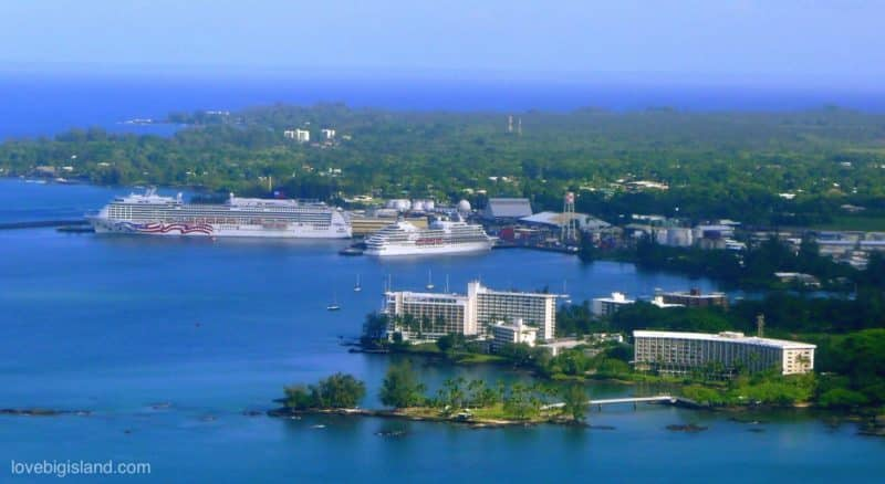 hilo cruise ship, big island, cruise ship terminal, hilo hawaii