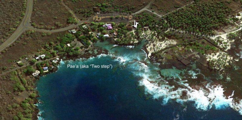 two step, snorkeling, Honaunau bay, hawaii, pae'a