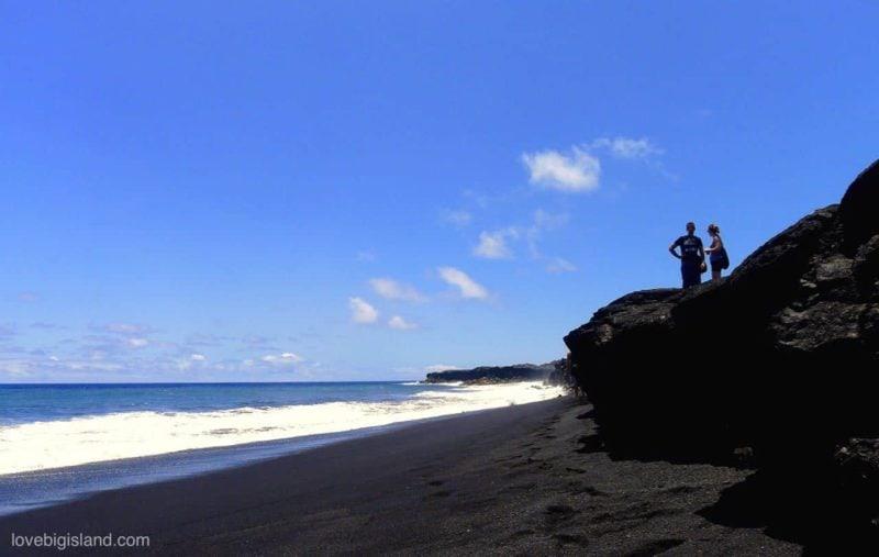 kalapana beach access, kaimu beach park access