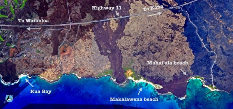 kekaha kai, big island,hawaii, makalawena, kua bay, Mahaiʻula Bay, Maniniʻowali Bay, beaches, beach overview