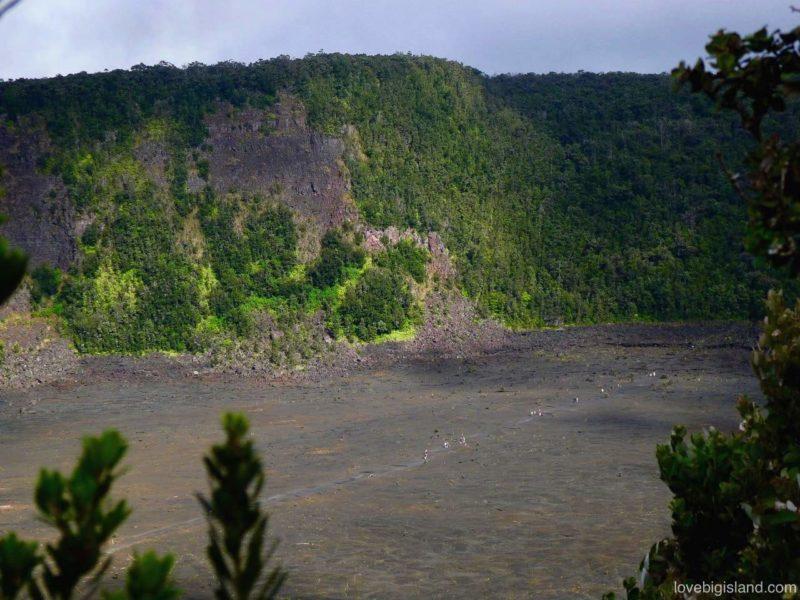 Kilauea iki crater hike big island hawaii