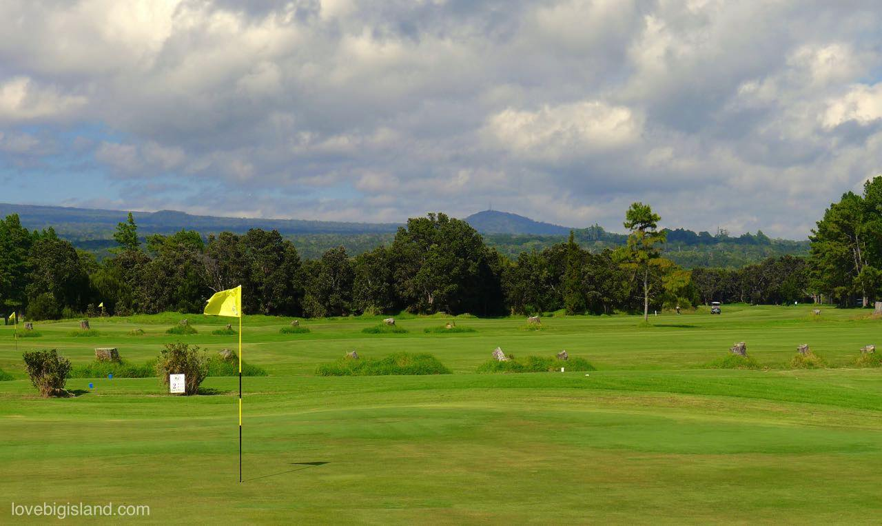 Golfing and Golf Courses on the Big Island